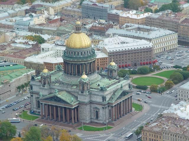 aerial view of St. Petersburg 36