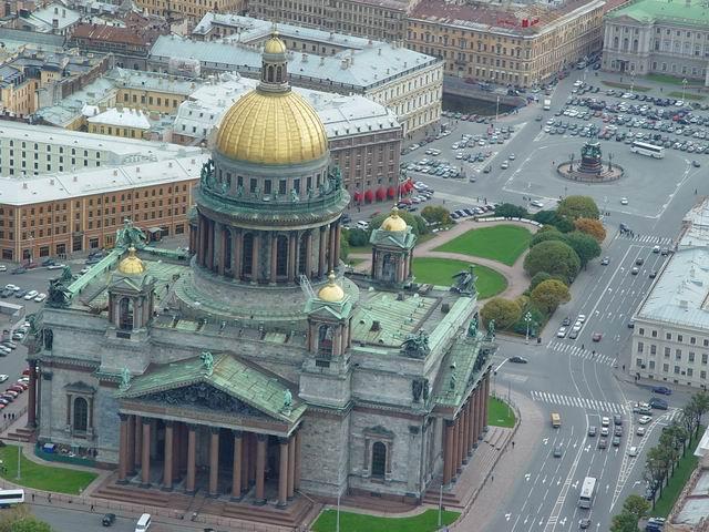 aerial view of St. Petersburg 37