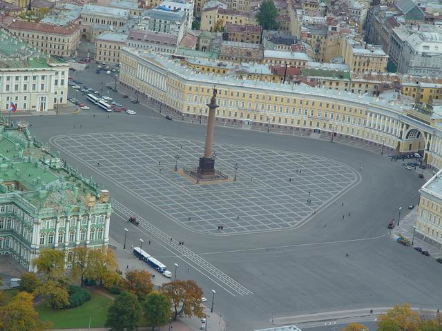 aerial view of St. Petersburg 38
