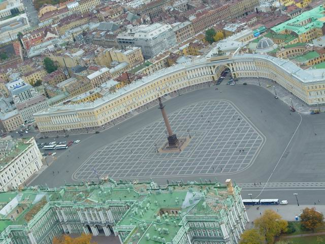 aerial view of St. Petersburg 39