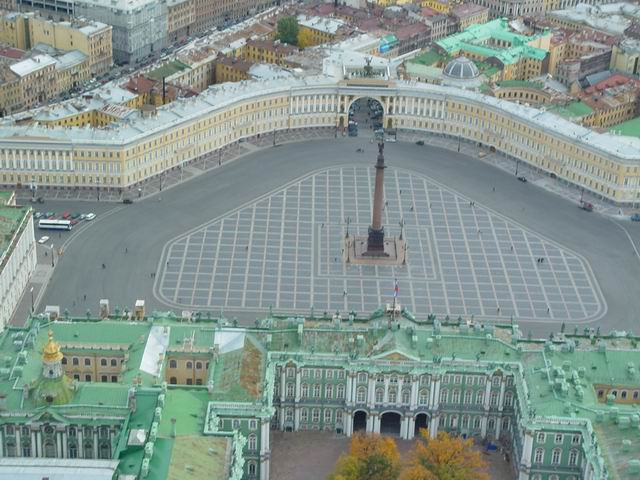 aerial view of St. Petersburg 41