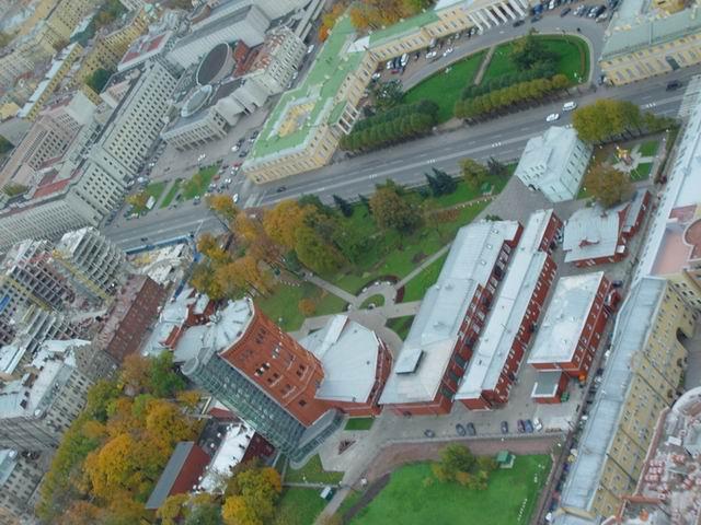 aerial view of St. Petersburg 42