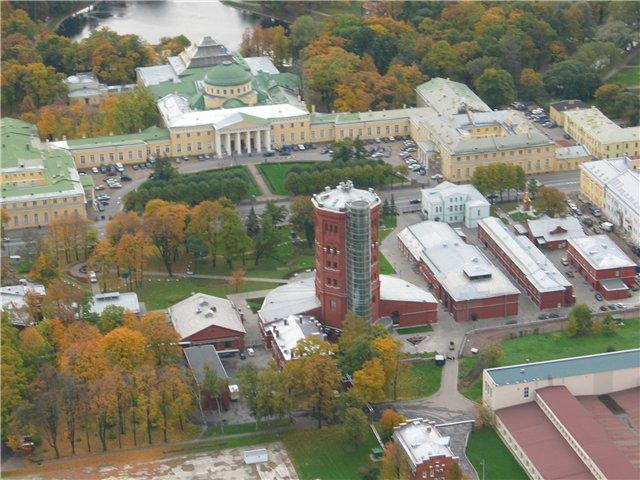 aerial view of St. Petersburg 43