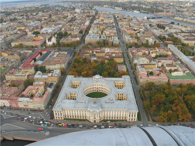 aerial view of St. Petersburg 44