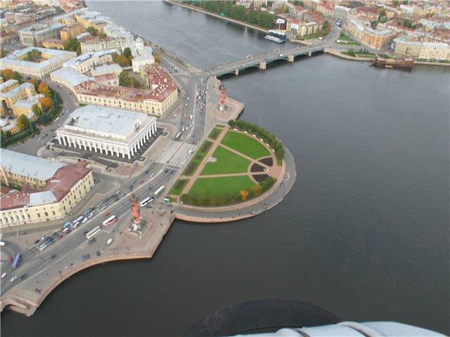 aerial view of St. Petersburg 45