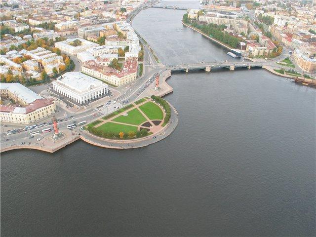 aerial view of St. Petersburg 46