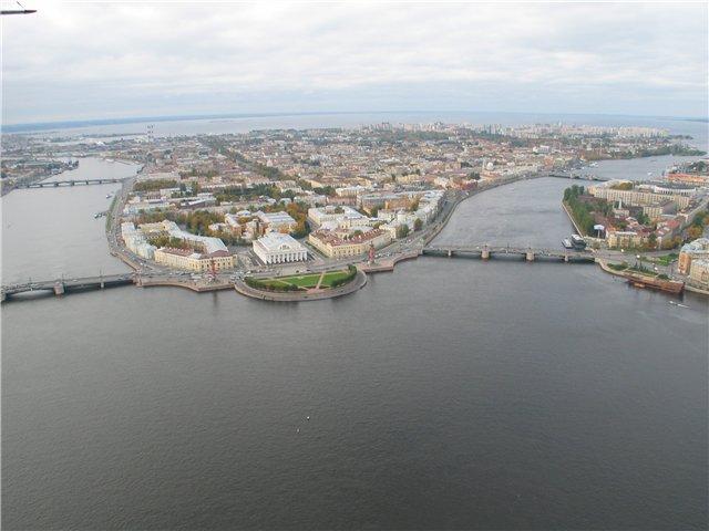 aerial view of St. Petersburg 48