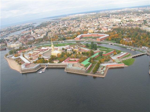 aerial view of St. Petersburg 50