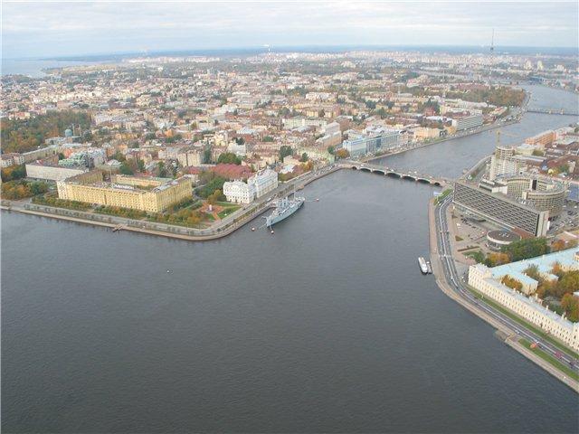 aerial view of St. Petersburg 51