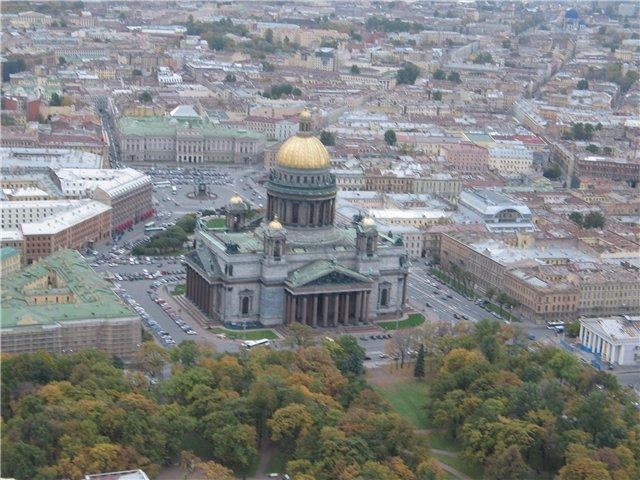 aerial view of St. Petersburg 52