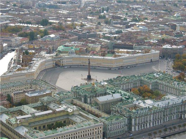 aerial view of St. Petersburg 58