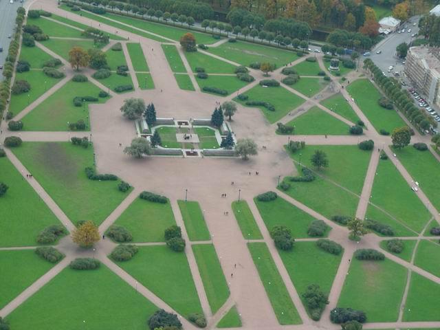 aerial view of St. Petersburg 6
