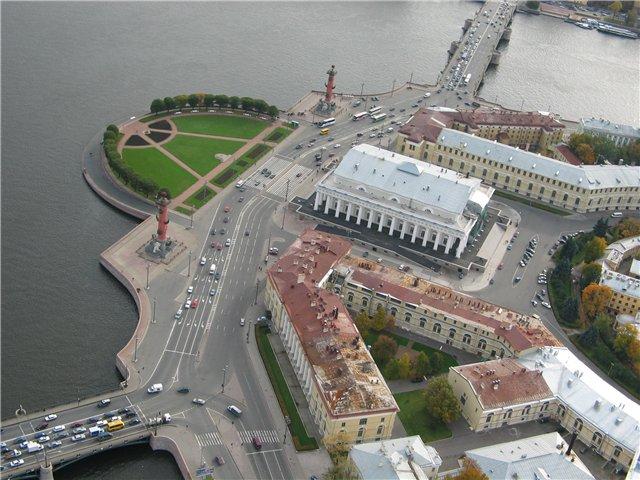 aerial view of St. Petersburg 60