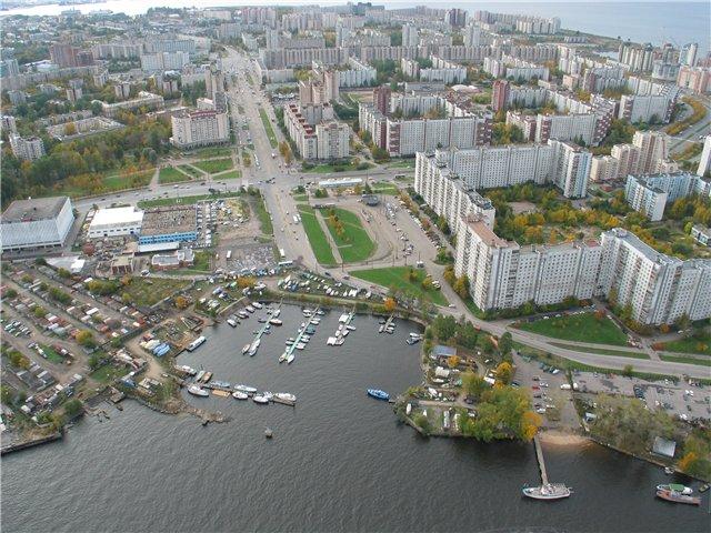 aerial view of St. Petersburg 61