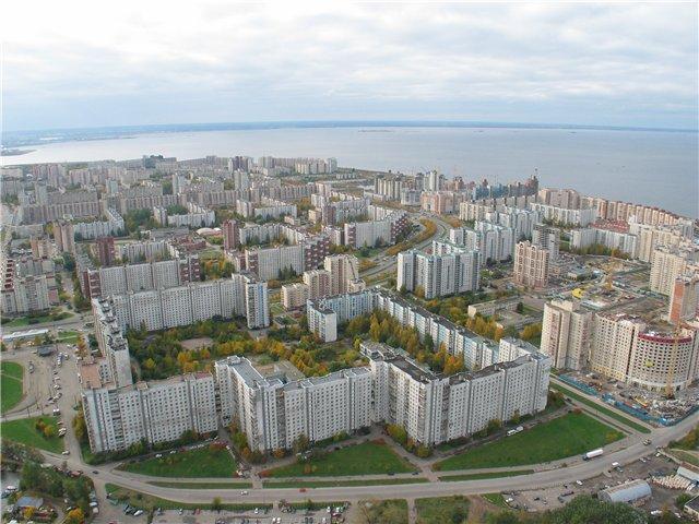 aerial view of St. Petersburg 62