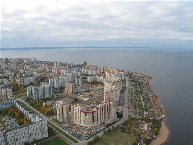 aerial view of St. Petersburg 63