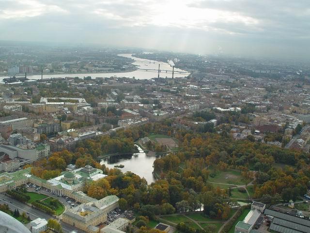 aerial view of St. Petersburg 7