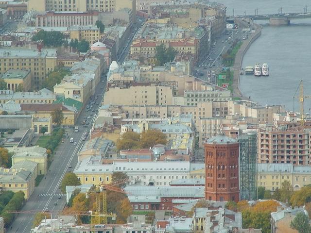 aerial view of St. Petersburg 8