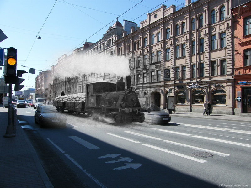 1 035 St. Petersburg: Now and Then 2