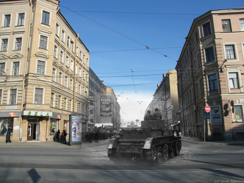 1 071 St. Petersburg: Now and Then 2