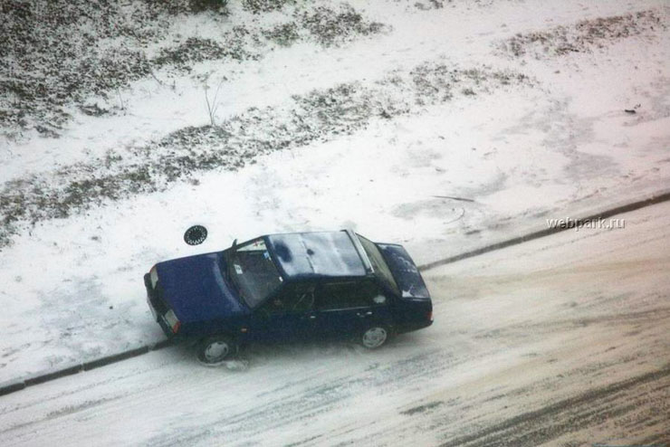 car crashed in Russia 1