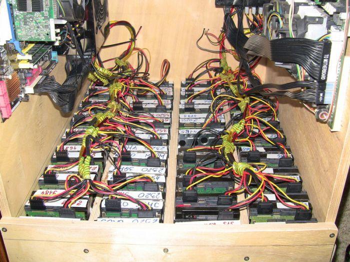 Хранилище своими руками из старого компьютера своими руками
