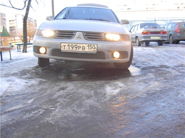 Russian car Mitsubishi 13