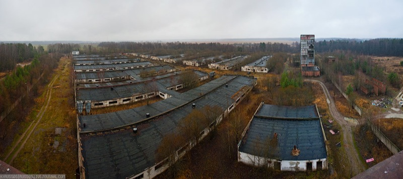 Russian abandoned pig city 1