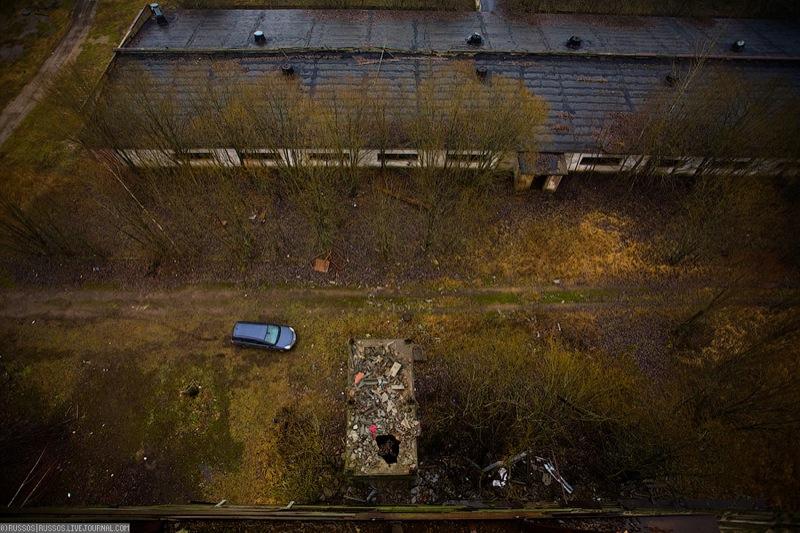 Russian abandoned pig city 7