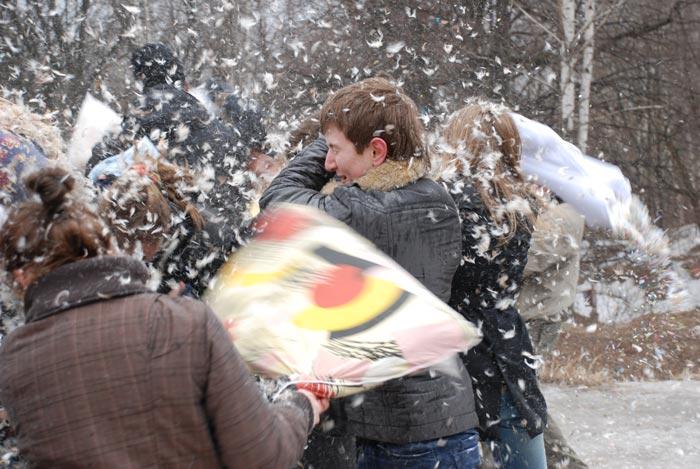 Russian pillow fight 7
