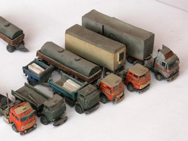 russian cars made of plasticine 13