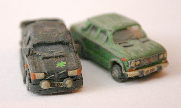 russian cars made of plasticine 5