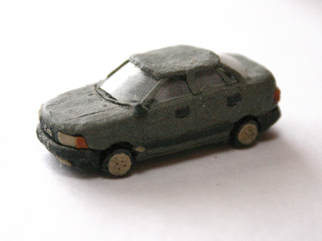 russian cars made of plasticine 8