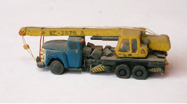 russian cars made of plasticine 9