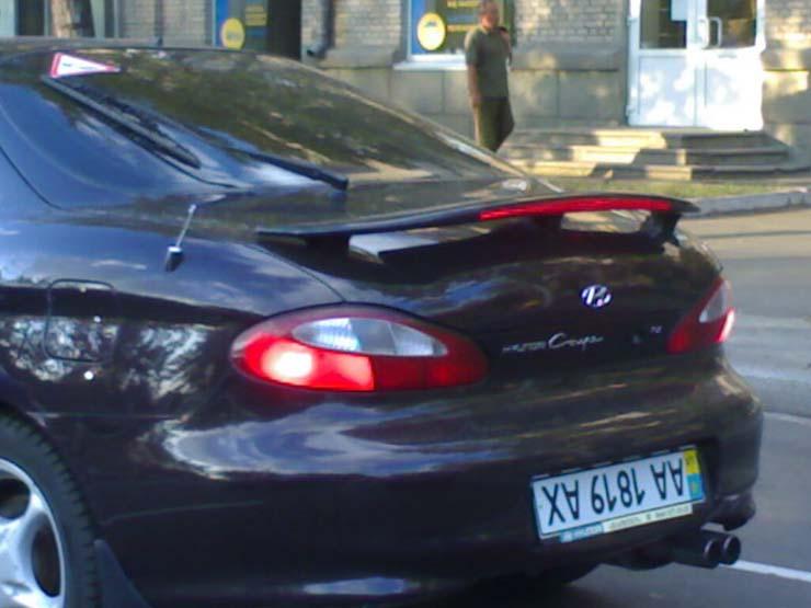 Ukrainian car plates 1