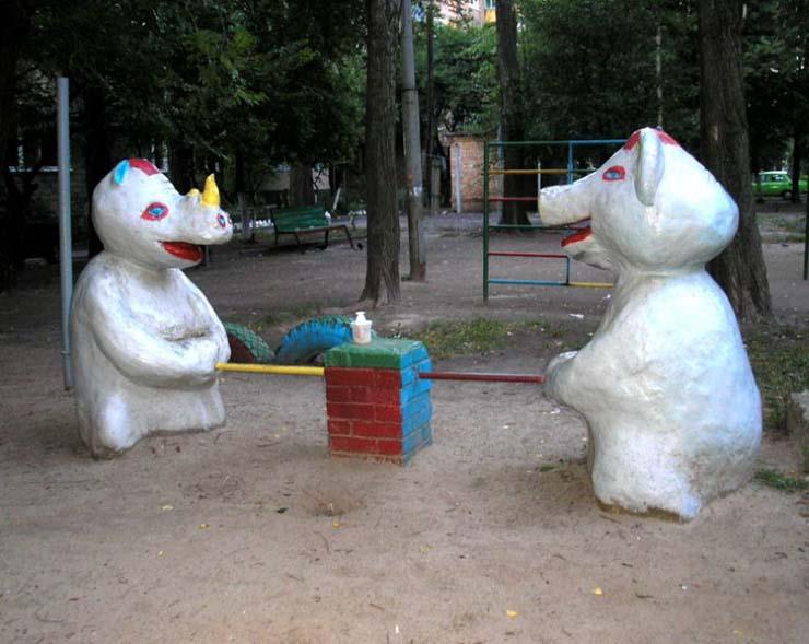 Russian children playgrounds 1