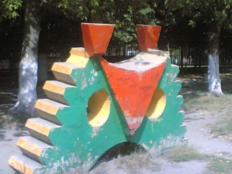 Russian children playgrounds 11