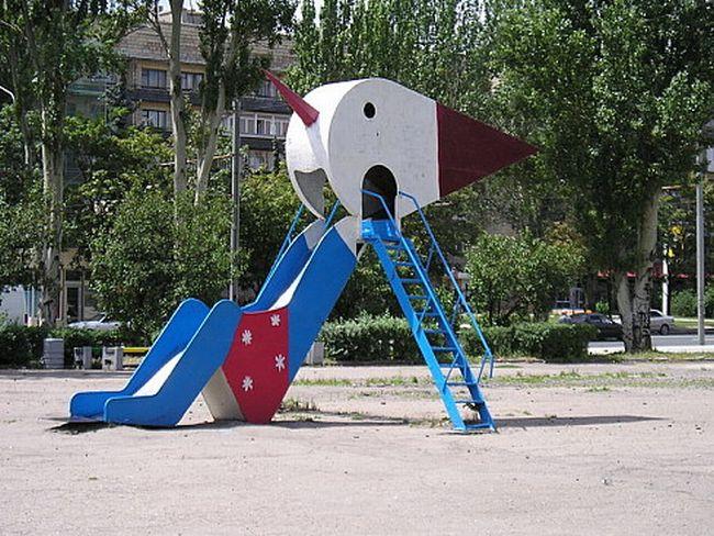 Russian children playgrounds 12