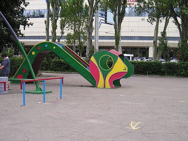 Russian children playgrounds 13