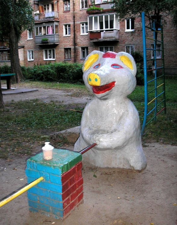Russian children playgrounds 2