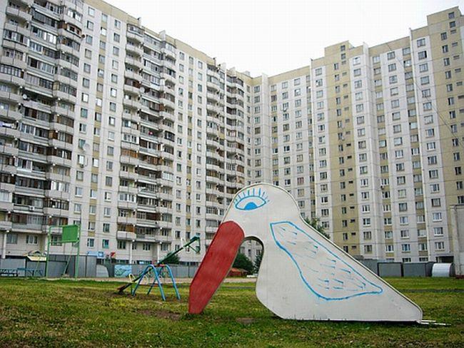 Russian children playgrounds 21