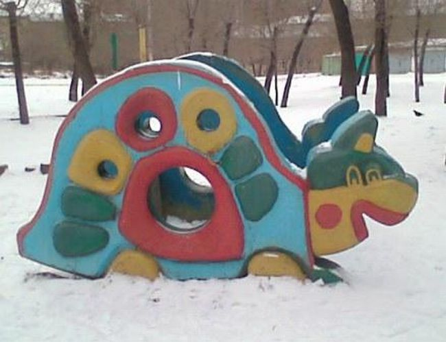 Russian children playgrounds 23