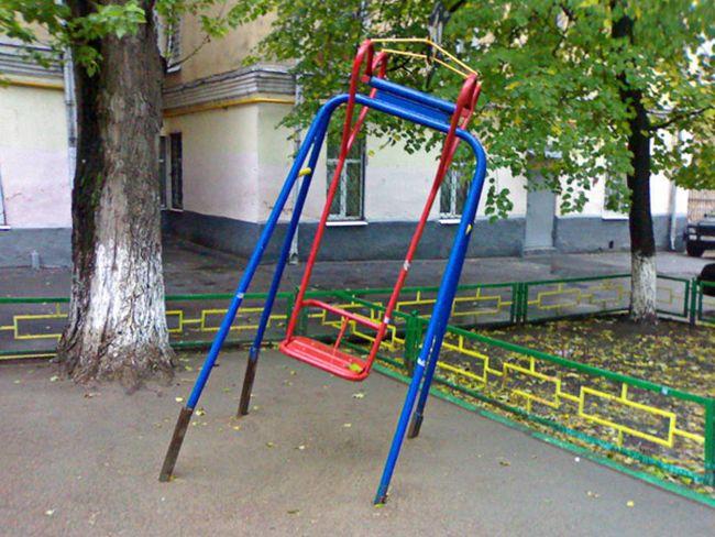 Russian children playgrounds 6