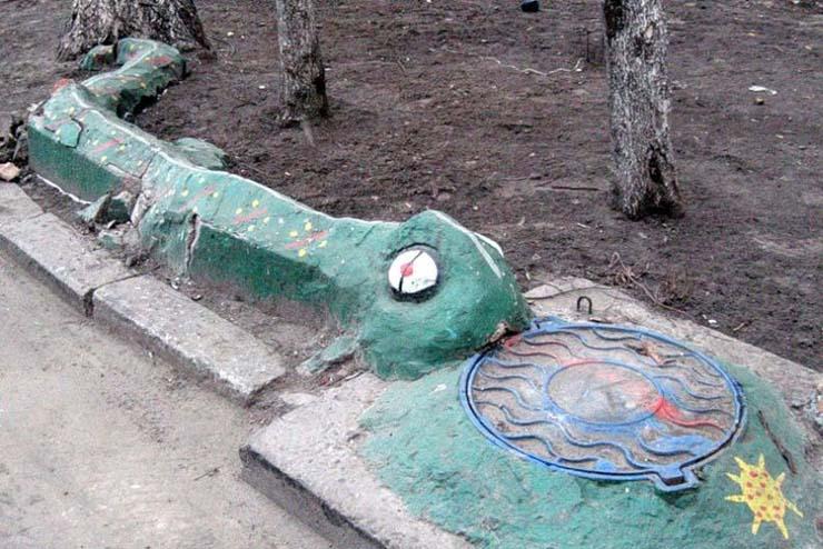 Russian children playgrounds 8