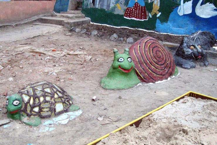 Russian children playgrounds 9