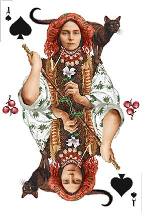 Playing cards from Ukraine 1