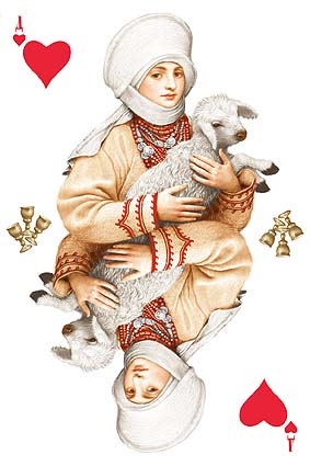 Playing cards from Ukraine 4
