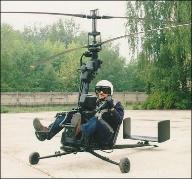Russian smallest helicopter 1