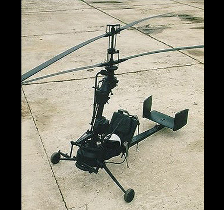 Russian smallest helicopter 2