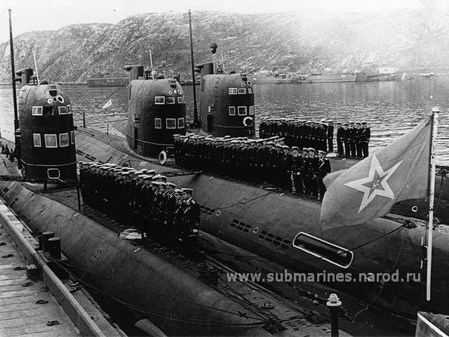 Russian submarines 1